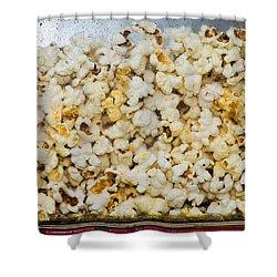Popcorn 2 - Featured 3 Shower Curtain by Alexander Senin