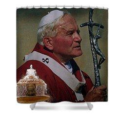 Pope John Paul I I Shower Curtain
