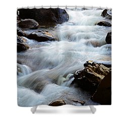Popo Agie Flow Shower Curtain