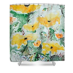 Poppies 07 Shower Curtain