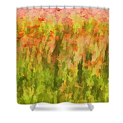 Poppies Of Tuscany IIi Shower Curtain