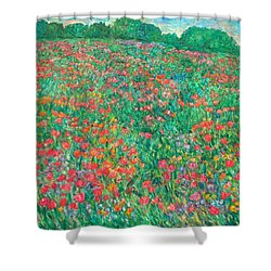 Poppy View Shower Curtain