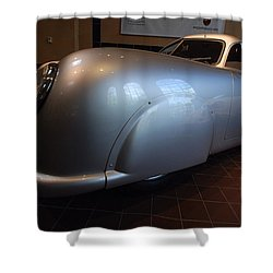 Porsche 1949 356 S L Gmund Coupe Shower Curtain