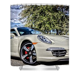 Porsche 50th Anniversary Limited Edition Shower Curtain