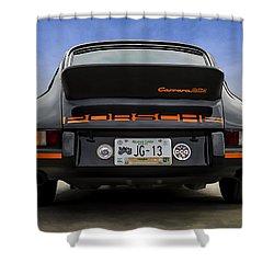 Porsche Carrera Rsr Shower Curtain