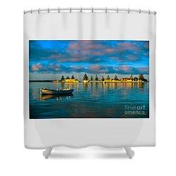 Port Albert Bay Shower Curtain