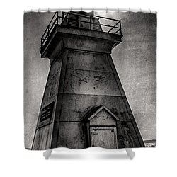 Port Dover Lighthouse Shower Curtain