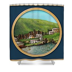 Port Isaac Shower Curtain