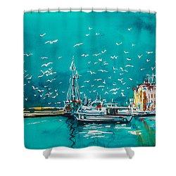 Port Shower Curtain