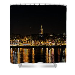 Port Lights Shower Curtain