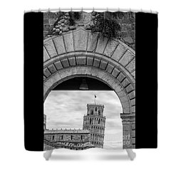 Porta Di Pisa Shower Curtain