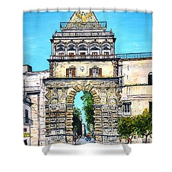 Porta Nuova - Palermo Shower Curtain