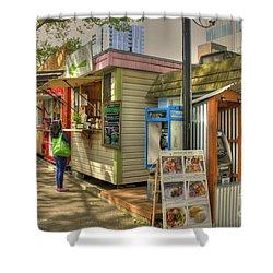 Portland Food Carts Shower Curtain