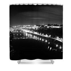 Porto @ Night Shower Curtain