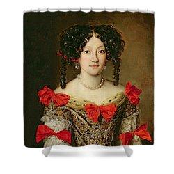 Portrait Of A Woman Shower Curtain by Jacob Ferdinand Voet