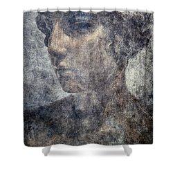 Portrait Of A Woman Shower Curtain by Kathleen K Parker
