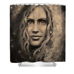 Portrait Of Annie Shower Curtain