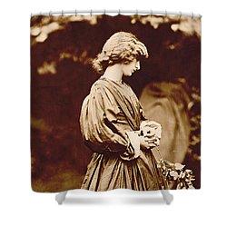 Portrait Of Jane Morris Shower Curtain by John Parsons