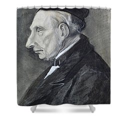 Portrait Of The Artists Grandfather Shower Curtain by Vincent Van Gogh