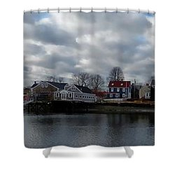 Portsmouth Bay Shower Curtain