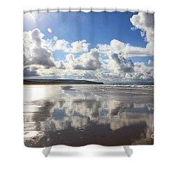 Portstewart Strand 4 Shower Curtain