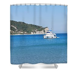 Poseidon 3 Shower Curtain
