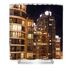 Shower Curtain featuring the photograph Posh Neighbors Dccxl by Amyn Nasser