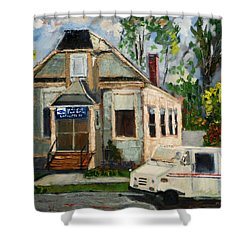 Post Office At Lafeyette Nj Shower Curtain