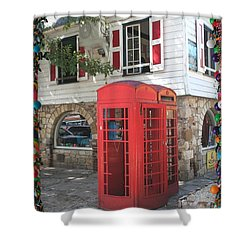 Shower Curtain featuring the photograph Postcard From Antigua by The Art of Alice Terrill