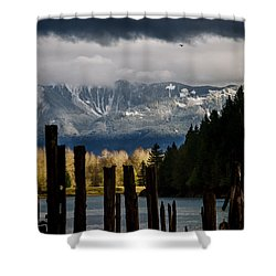 Potential - Landscape Photography Shower Curtain