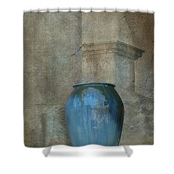 Pottery And Archways II Shower Curtain by Sandra Bronstein