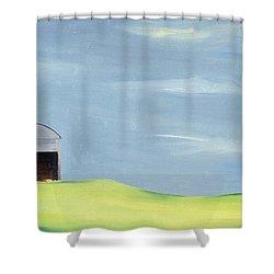 Poulton Fields  Shower Curtain by Ana Bianchi