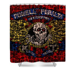 Powell Peralta Shower Curtain