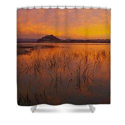Powell Sunrise 1 Shower Curtain