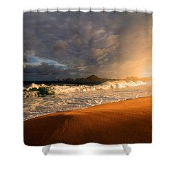 Shower Curtain featuring the photograph Power by Eti Reid