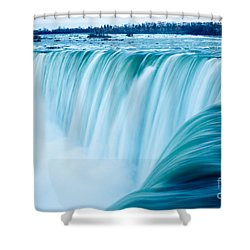 Power Of Niagara Falls Shower Curtain