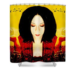 Shower Curtain featuring the photograph Power Over The Past by Heather King