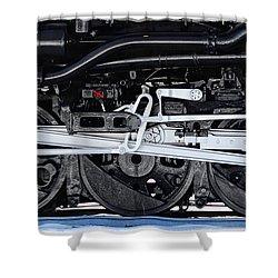 Power Wheels Shower Curtain
