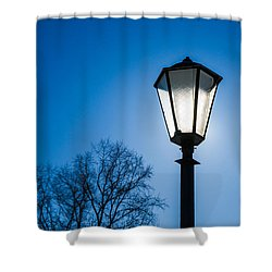 Powered By The Sun - Featured 3 Shower Curtain by Alexander Senin
