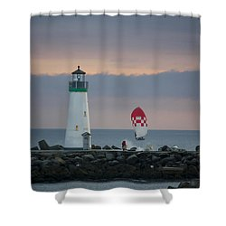 pr 200 - The Sailboats Shower Curtain by Chris Berry