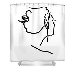 Practice Matisse  Shower Curtain