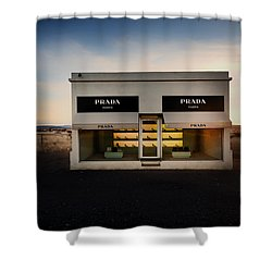Prada Marfa Shower Curtain