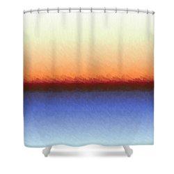Shower Curtain featuring the digital art Praestituebatis by Jeff Iverson