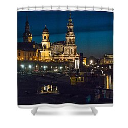 Dresden In Evening Shower Curtain