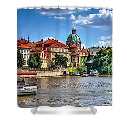 Shower Curtain featuring the photograph Prague by Joe  Ng