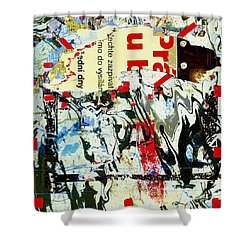 Prague Spring Shower Curtain by Dominic Piperata