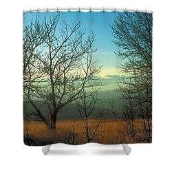 Prairie Autumn 2 Shower Curtain by Terry Reynoldson