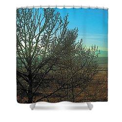 Prairie Autumn 7 Shower Curtain by Terry Reynoldson
