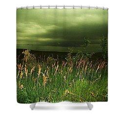 Prairie Clouds Shower Curtain