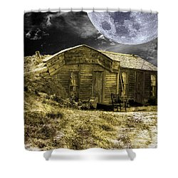 Prairie Life Digital Shower Curtain